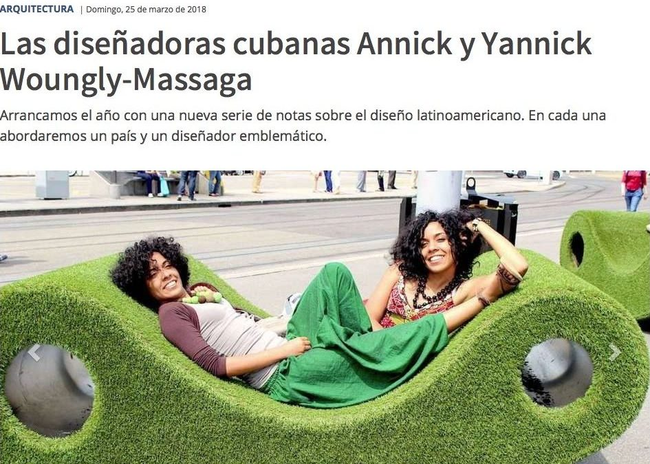 We were chosen to represent Cuban designers in Los Andes Latin American Design Review