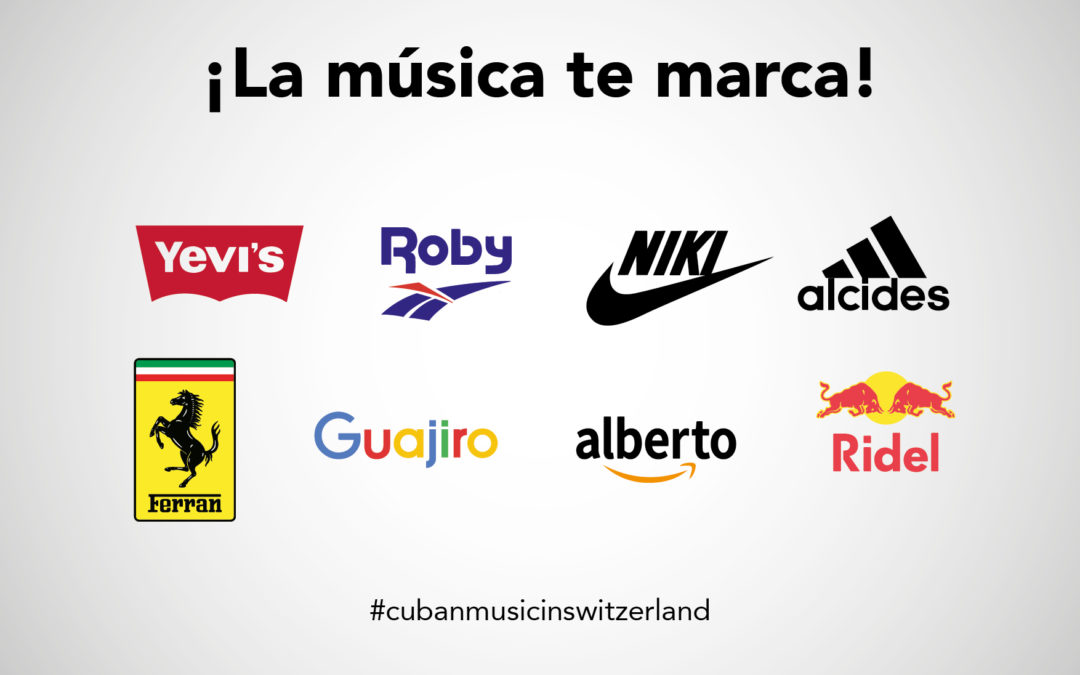 Graphic tribute to Cuban musicians in Switzerland