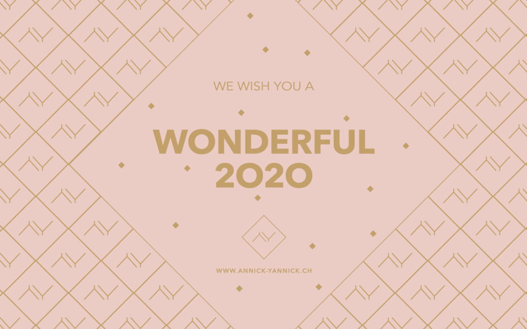 We wish you a wonderful 2020!