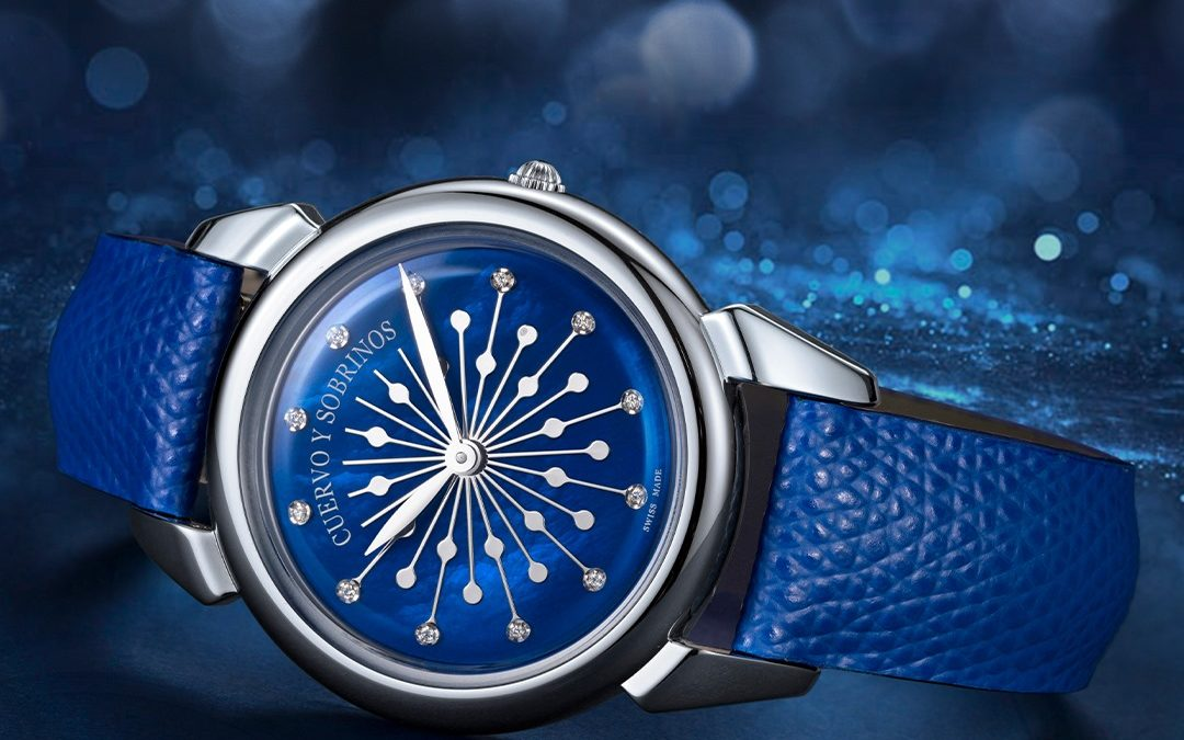 Design of the Cuervo y Sobrinos' new ladies watch