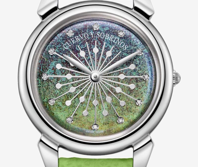 Nous sommes dans le top ten des meilleures montres à cadran vert!
