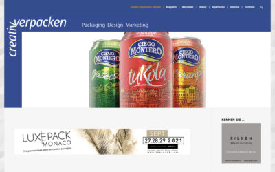 Our article on the role of packaging in Cuba published in the prestigious German magazine Creativ Verpacken