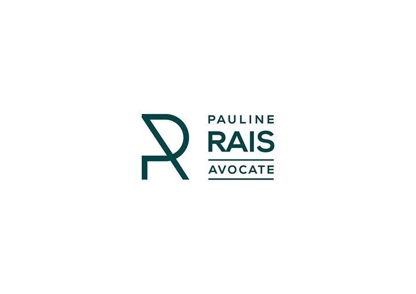 Pauline Rais Avocate. Logo. Delémont.